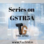 GSTR5A